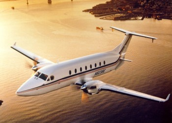Fly Business Jet with The Beechcraft 1900