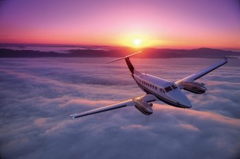 Private Business Charter on the Beechcraft King Air 350