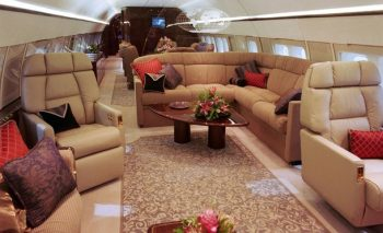 Corporate Travel with Business Boeing 737 Jet