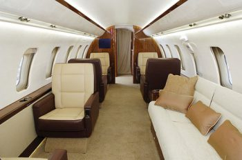 Luxury Private Charter With Challenger 600 Jet