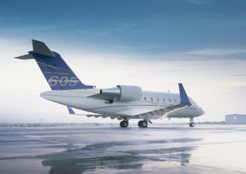 Business Private Jet Challenger 605 Super Mid