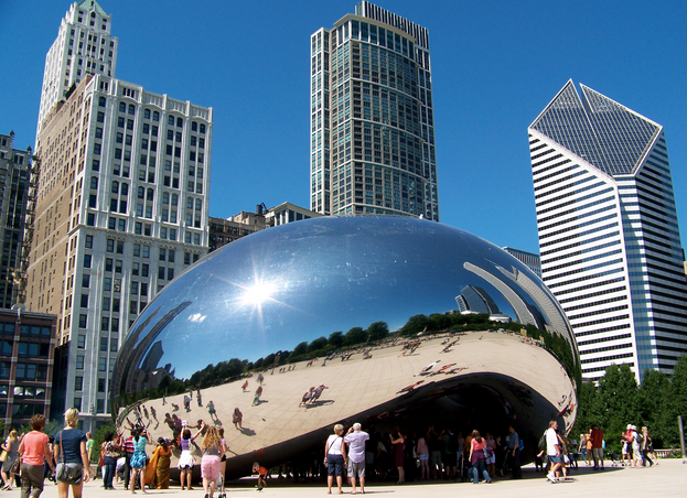 Private Plane Flight Travel to Chicago Illinois