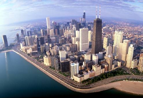 Private Aircraft Charter Servies to Chicago Illinois