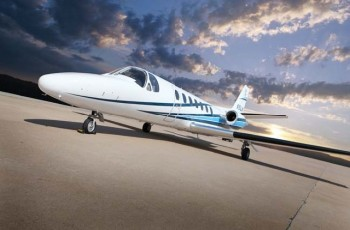 Citation V LIght Jet  Charter Flight Private Aircraft  CFG