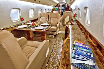 Private Plane Charters - Embraer Legacy 600