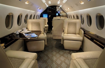 One Way and Empty Legs with Falcon 2000