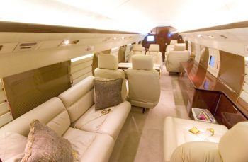 Corporate Gulfstream GII Charter Flight