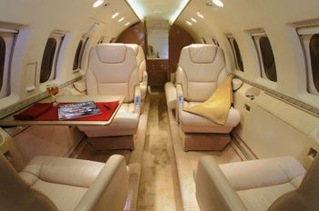 Business Air Jet Hawker 800A