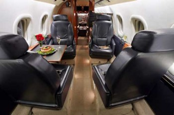 Private Plane Charters Lear 55 Flights