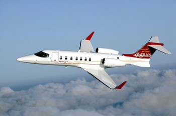 Private Charter on the Lear 40