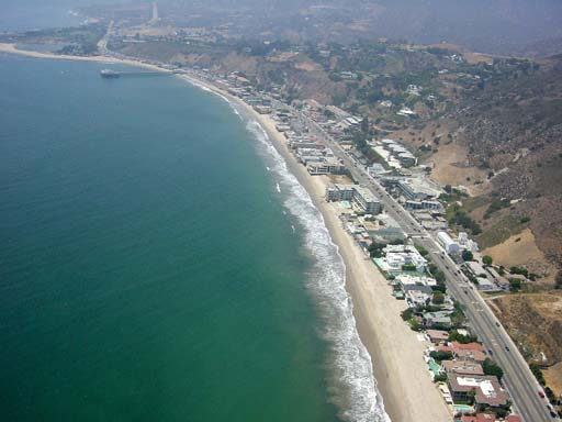 Fly on a Private Jet to Malibu California