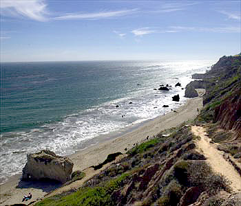 Malibu Coast Line - Private Jet Air Travel Destination