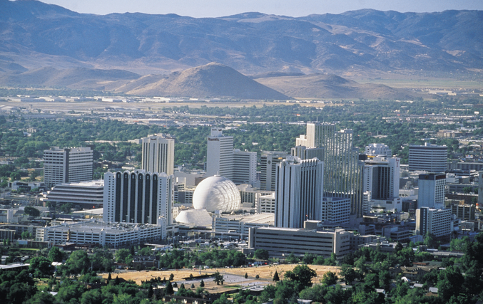 Charter a Private Aircraft to Reno Nevada