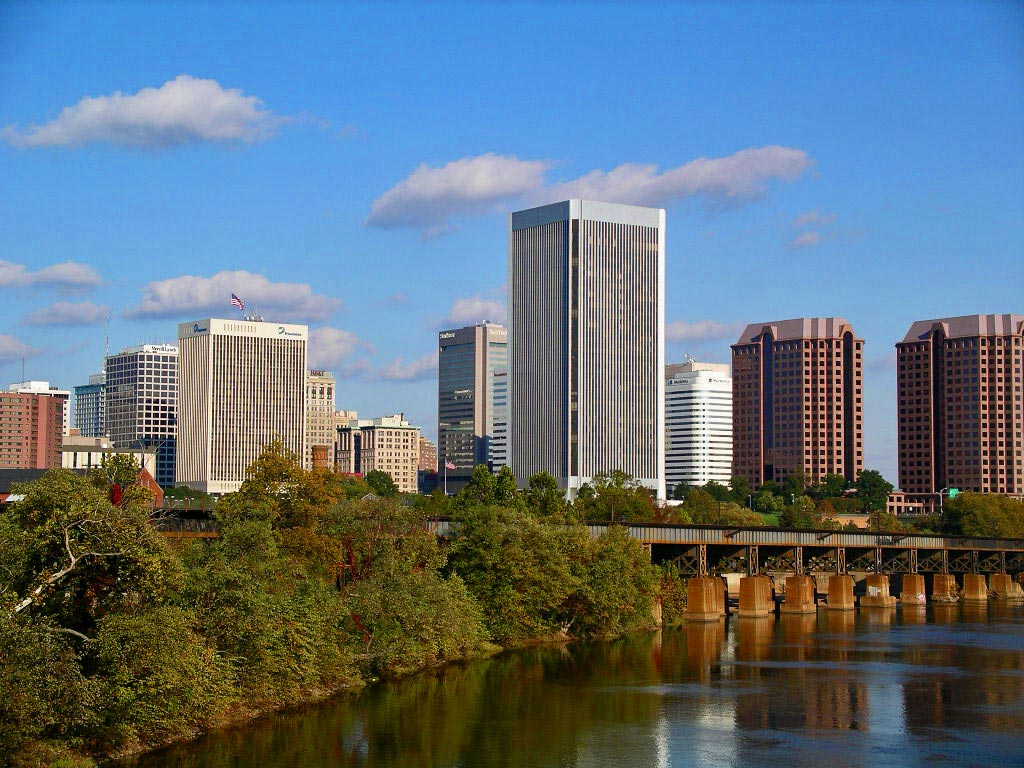One Way Jet Charters to Richmond Virginia