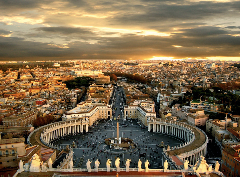Private Charter Flights to Rome italy - Charter Flight Group