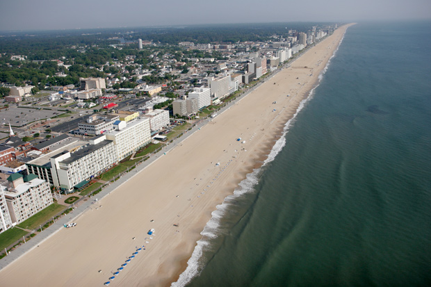 One Ways and empty Leg Charter Flights to Virginia Beach