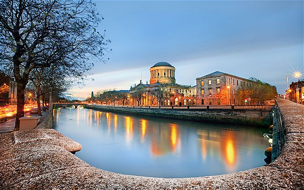 Private Plane Jet Charters to Dublin Ireland