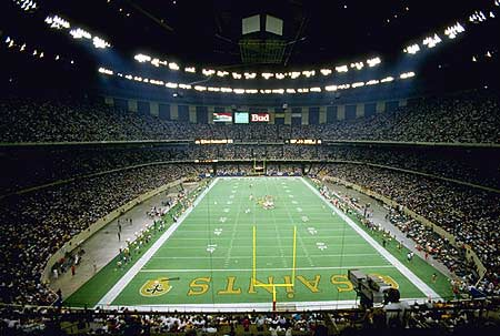 New orleans la private jet charter charter flights for Mercedes benz superdome club level seating