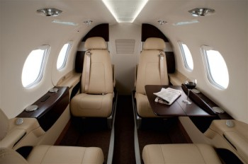 Chartered Private Jet Phenom 100