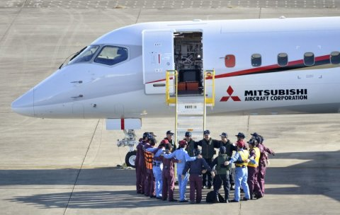 Mitsubishi Industries Private Jet Services  Charter Flight Group